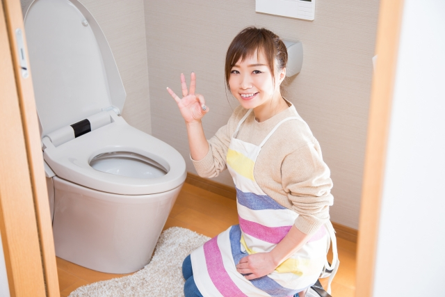 簡単かつ効率的にトイレを綺麗にしよう!トイレ掃除の効率的な手順やアイテム!