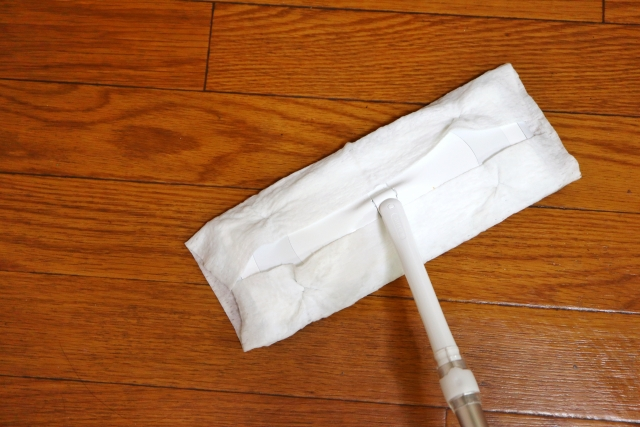フローリング掃除に便利なアイテム